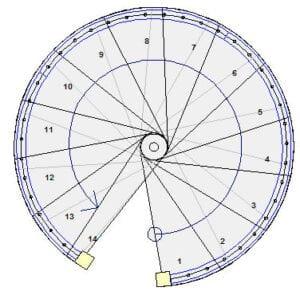 Spiraltrapp
